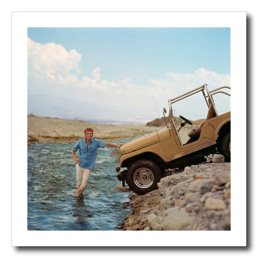 Outdoor portrait of Steve McQueen
